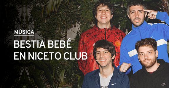 Bestia Bebe En Niceto Club