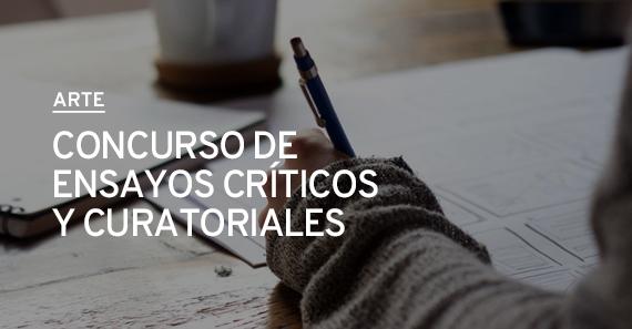 Concurso De Ensayos Críticos y Curatoriales