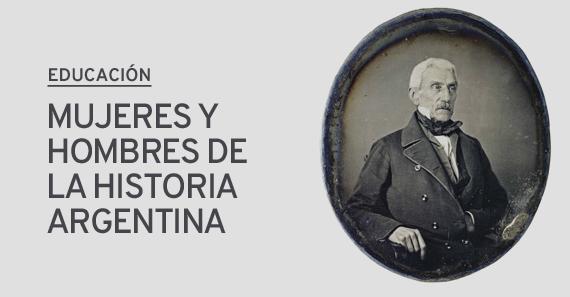 Mujeres y Hombres De La Historia Argentina