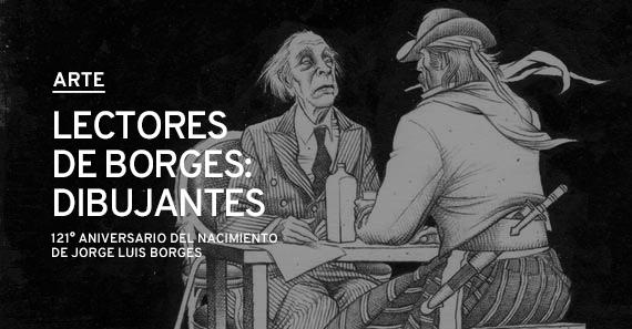 Lectores de Borges: Dibujantes