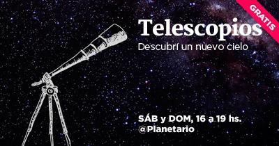 Observando Por Telescopio