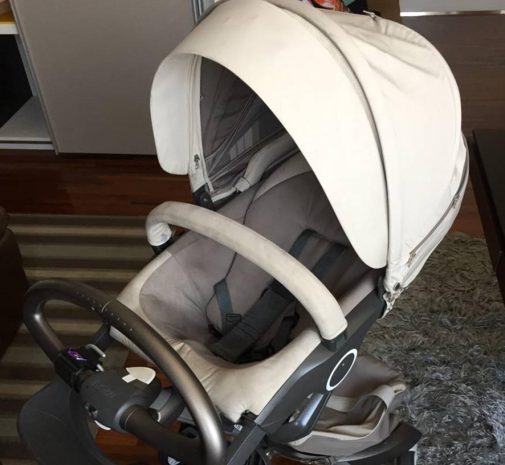 dd792f918aa Carrinho de bebê Stokke Xplory + Bebê Conforto Maxi Cosi